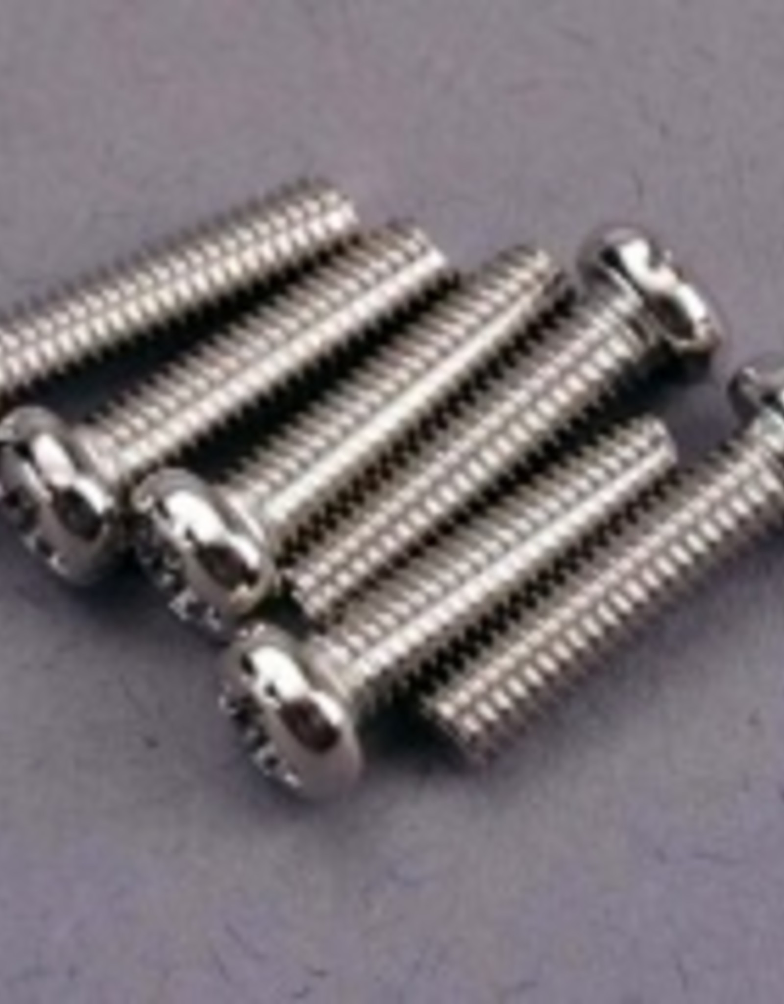 Traxxas Traxxas Screws, 3x12mm roundhead machine (6)