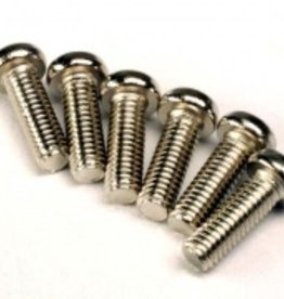 Traxxas Traxxas Screws, 2.6x8mm roundhead machine (6)