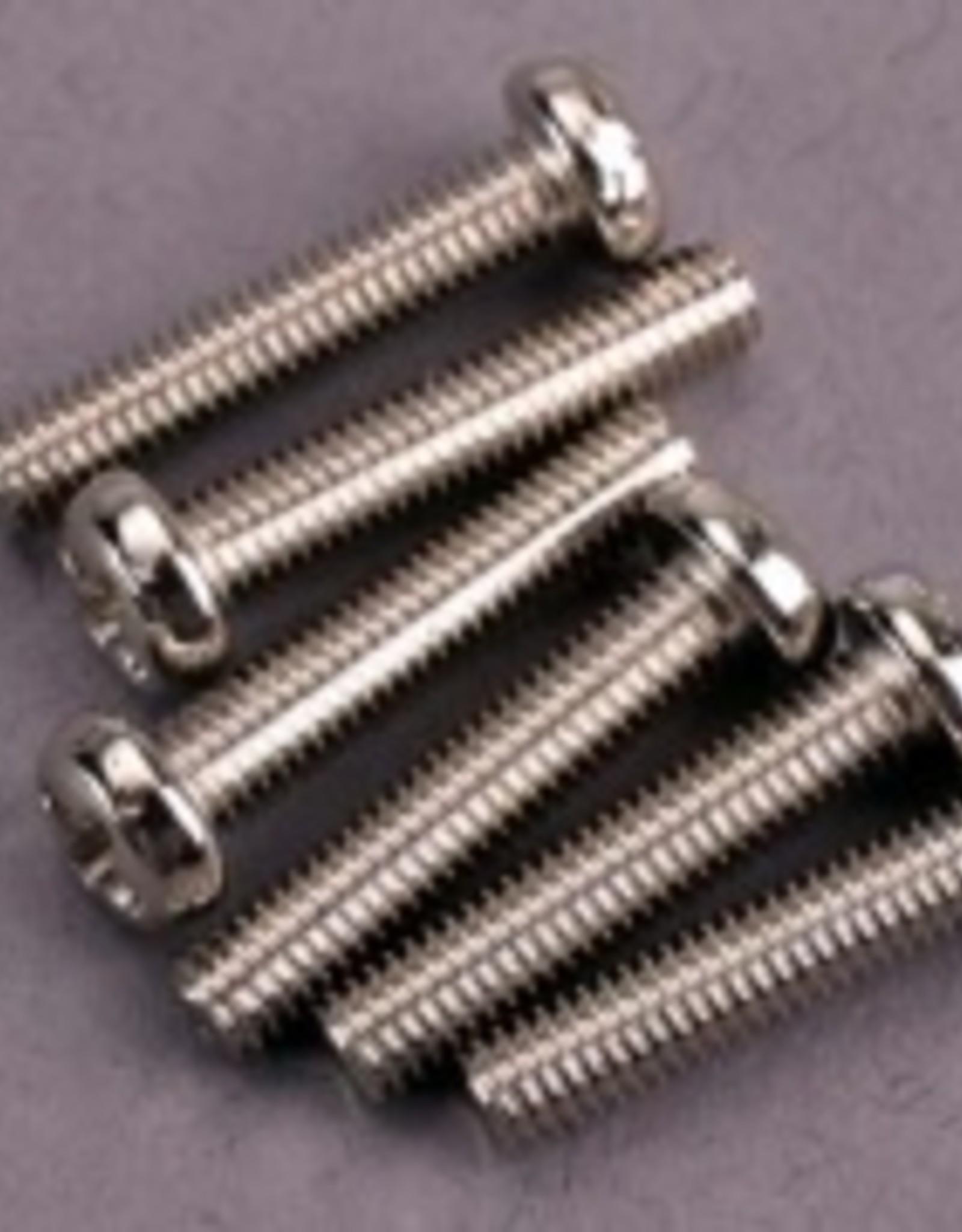 Traxxas Traxxas Screws, 3x15mm roundhead machine (6)