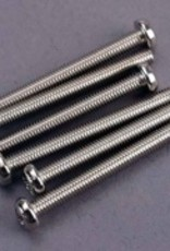 Traxxas Traxxas Screws, 3x30mm roundhead machine (6)