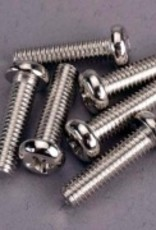 Traxxas Traxxas Screws, 4x15mm roundhead machine (6)