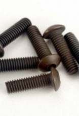 Traxxas Traxxas Screws, 3x10mm button-head machine (hex drive) (6)