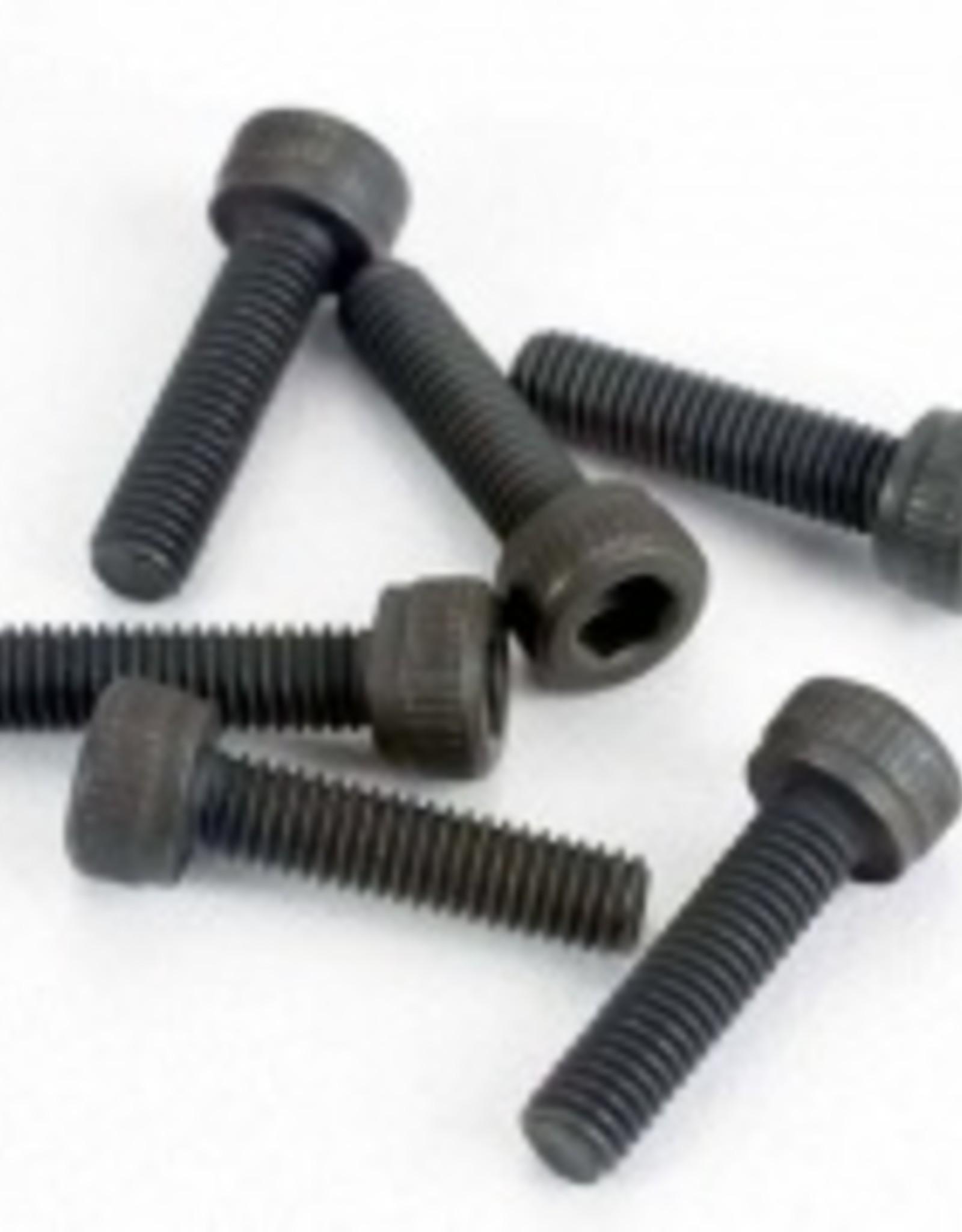 Traxxas Traxxas Head screws, 3x12mm cap-head machine (hex drive) (6) (TRX 2.5, 2.5R, 3.3)