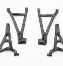 Traxxas Traxxas Suspension arm set, front (includes upper right & left and lower right & left arms)