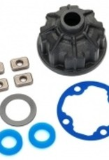 Traxxas Traxxas E-Revo 2.0 Carrier, differential (heavy duty)/ x-ring gaskets (2)/ ring gear gasket/ spacers (4)/ 12.2x18x0.5 PTFE-coated washer (1)