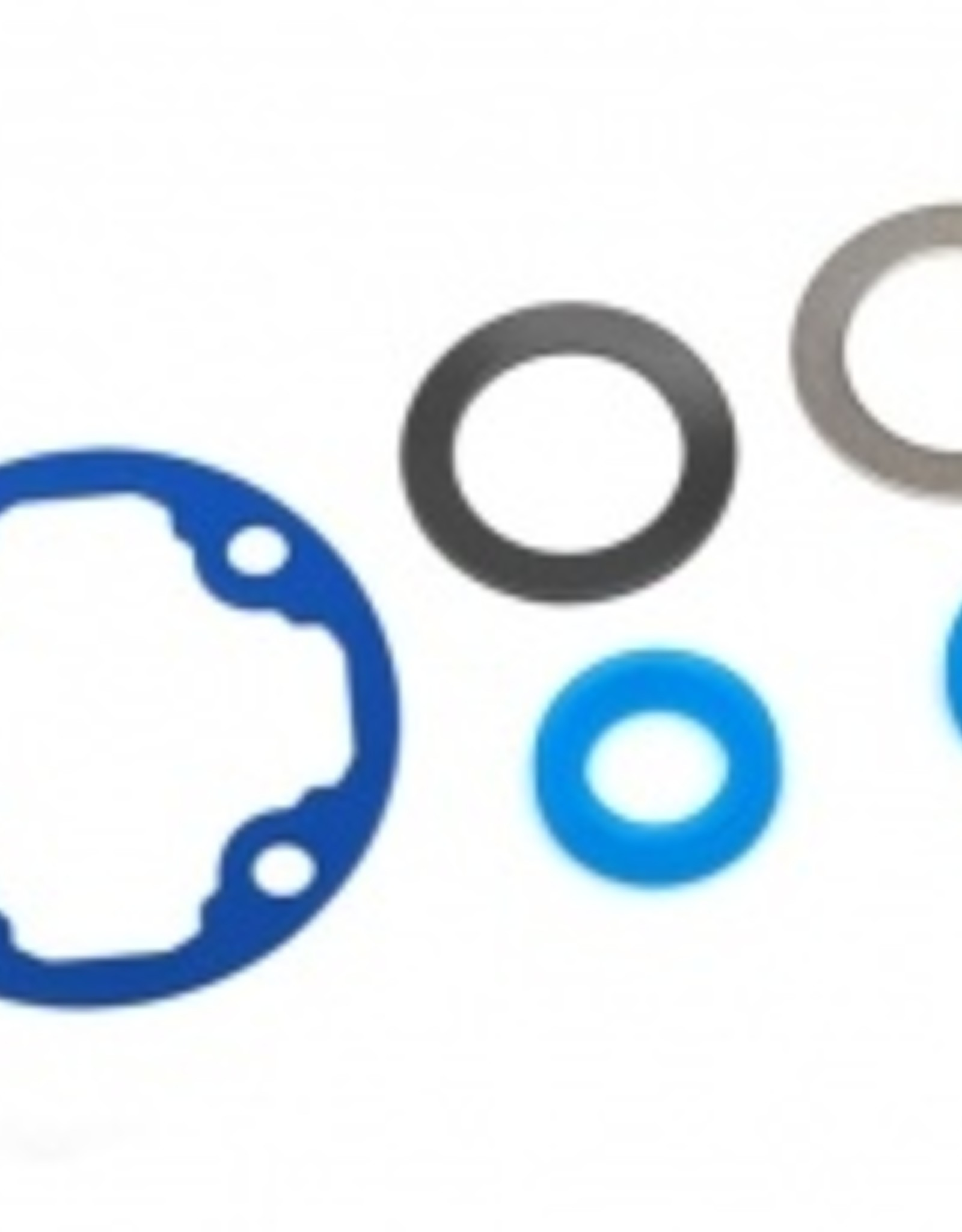 Traxxas Traxxas E-Revo 2.0 Differential gasket/ x-rings (2)/ 12.2x18x0.5 metal washer (1)/ 12.2x18x0.5 PTFE-coated washer (1)