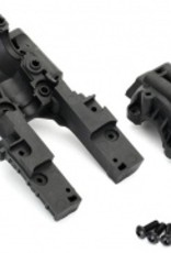Traxxas Traxxas E-Revo 2.0 Bulkhead, front (upper and lower)/ 4x12mm BCS (6) (requires #8622 chassis)