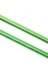 Traxxas Traxxas E-Revo 2.0 Push rods, aluminum (green-anodized) (2) (assembled with rod ends)