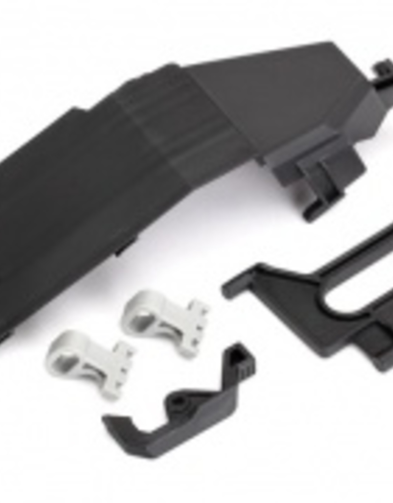 Traxxas Traxxas Unlimited Desert Racer Battery door/ battery strap/ retainers (2)/ latch