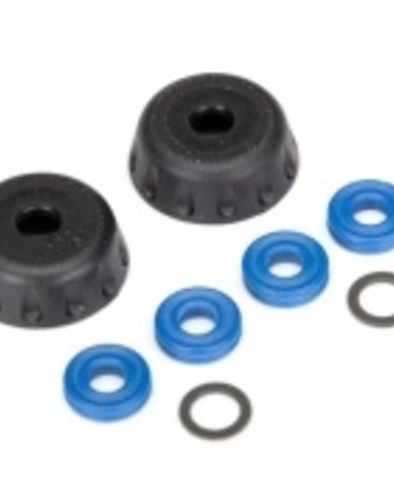 Traxxas Traxxas Unlimited Desert Racer Double seal kit, GTR shocks (x-rings (4)/ 4x6x0.5mm PTFE-coated washers (2)/ bottom caps (2)) (renews 2 shocks)