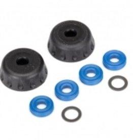 Traxxas Traxxas Unlimited Desert Racer Double seal kit, GTR shocks (x-rings (4)/ 4x6x0.5mm PTFE-coated washers (2)/ bottom caps (2)) (renews 2 shocks)