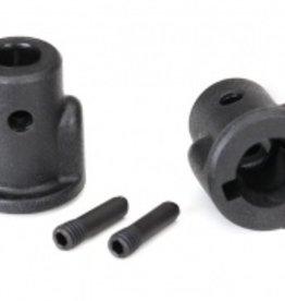 Traxxas Traxxas 4 Tec 2.0 Drive cups, inner (2)/ screw pins (2)