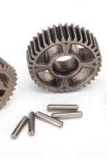 Traxxas Traxxas TRX Gear set, transmission, metal (includes 18T, 30T input gears, 36T output gear, 2x9.8 pins (5))