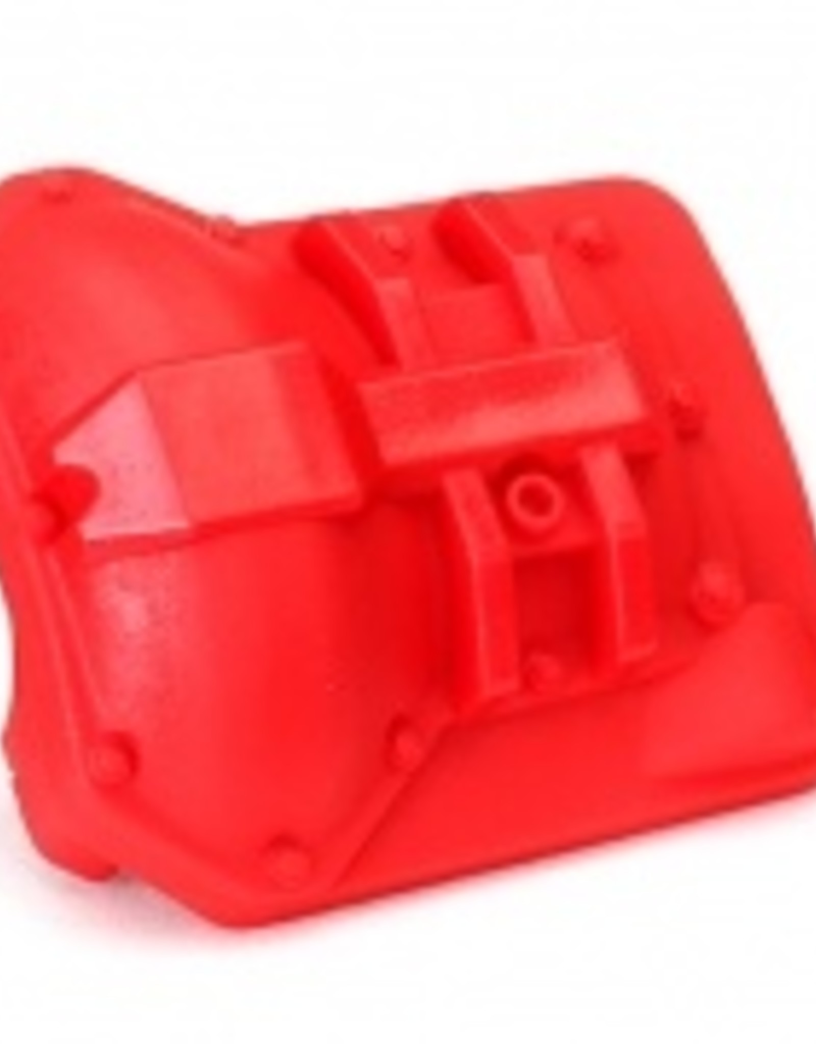 Traxxas Traxxas TRX Differential cover, front or rear (red)
