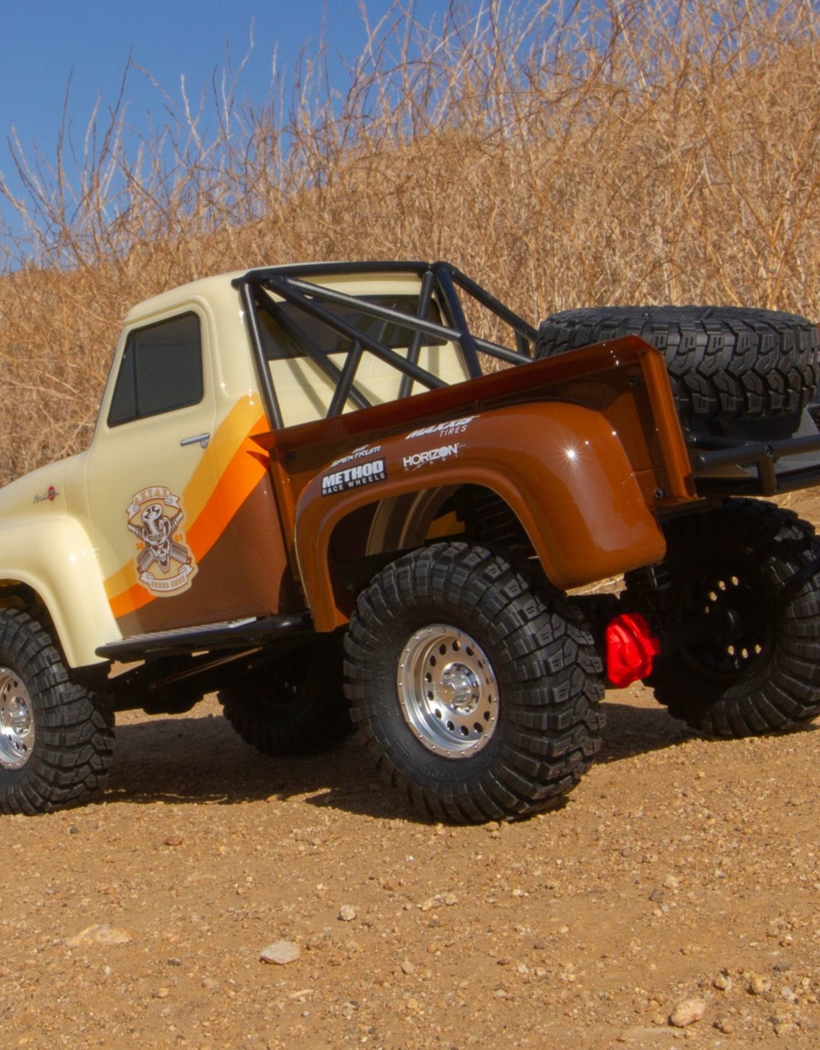 Axial Axial SCX10 II 1955 Ford F-100 4WD Truck Brushed RTR, Brown