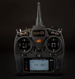 Spektrum Spektrum DX9 Black 9-Channel DSMX Transmitter Only
