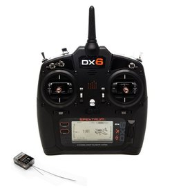 Spektrum Spektrum DX6 6-Channel DSMX Transmitter Gen 3 with AR6600T