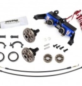 Traxxas Traxxas TRX Differential, locking, front and rear (assembled) (includes T-Lock cables and servo)