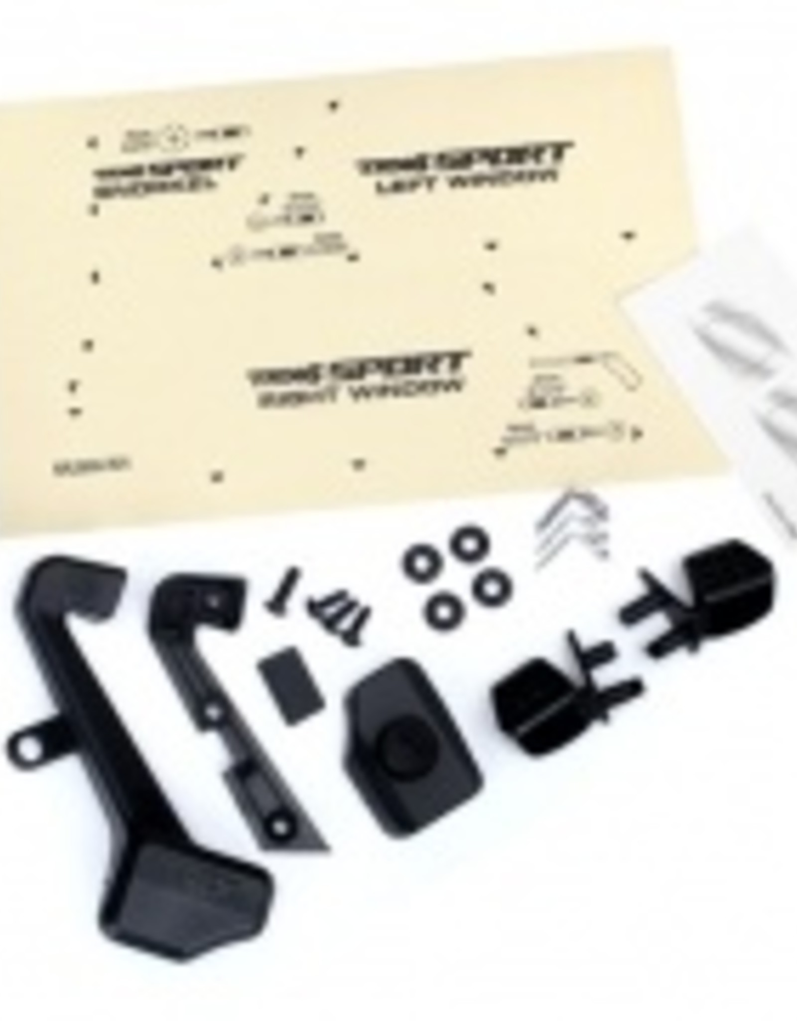 Traxxas Traxxas TRX Sport Mirrors, side (left & right)/ snorkel/ mounting hardware (fits #8111 or #8112 body)