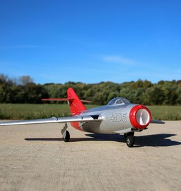 E-flite E-flite UMX MiG-15 28mm EDF Jet BNF Basic with AS3X and SAFE Select, 411mm