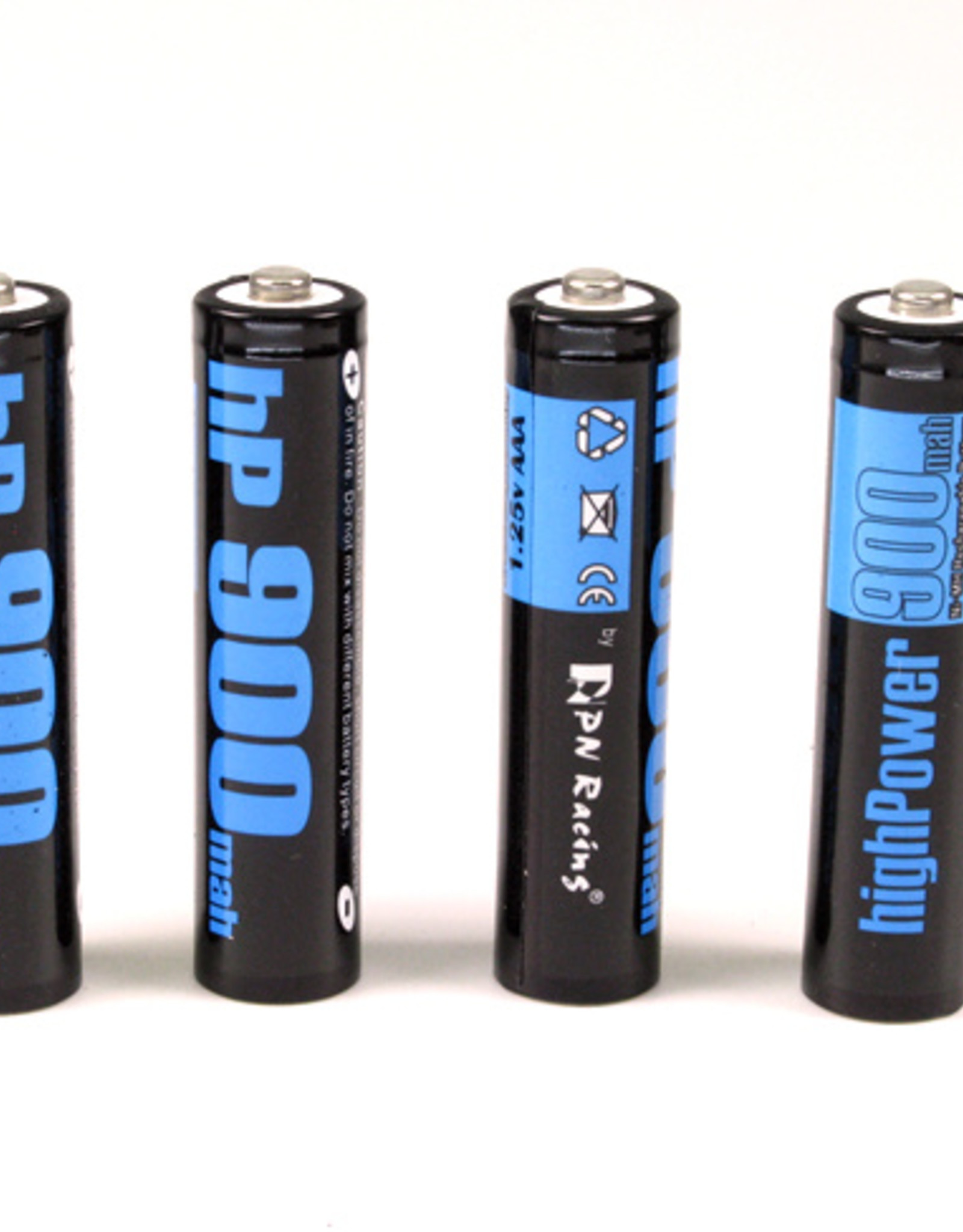 Pn Racing PN Racing High Power 900mah Ni-MH Rechargeable AAA Battery (4pcs)