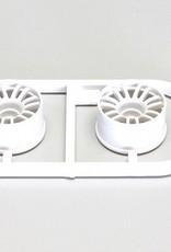 Kyosho Kyosho Multi Wheel II W/Offset 1.0(White/RE30/2pcs)