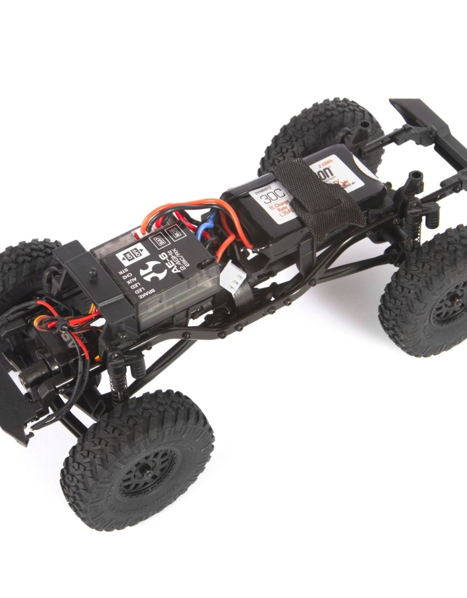 Axial Axial 1/24 SCX24 2019 Jeep Wrangler JLU CRC 4WD Rock Crawler Brushed RTR, White