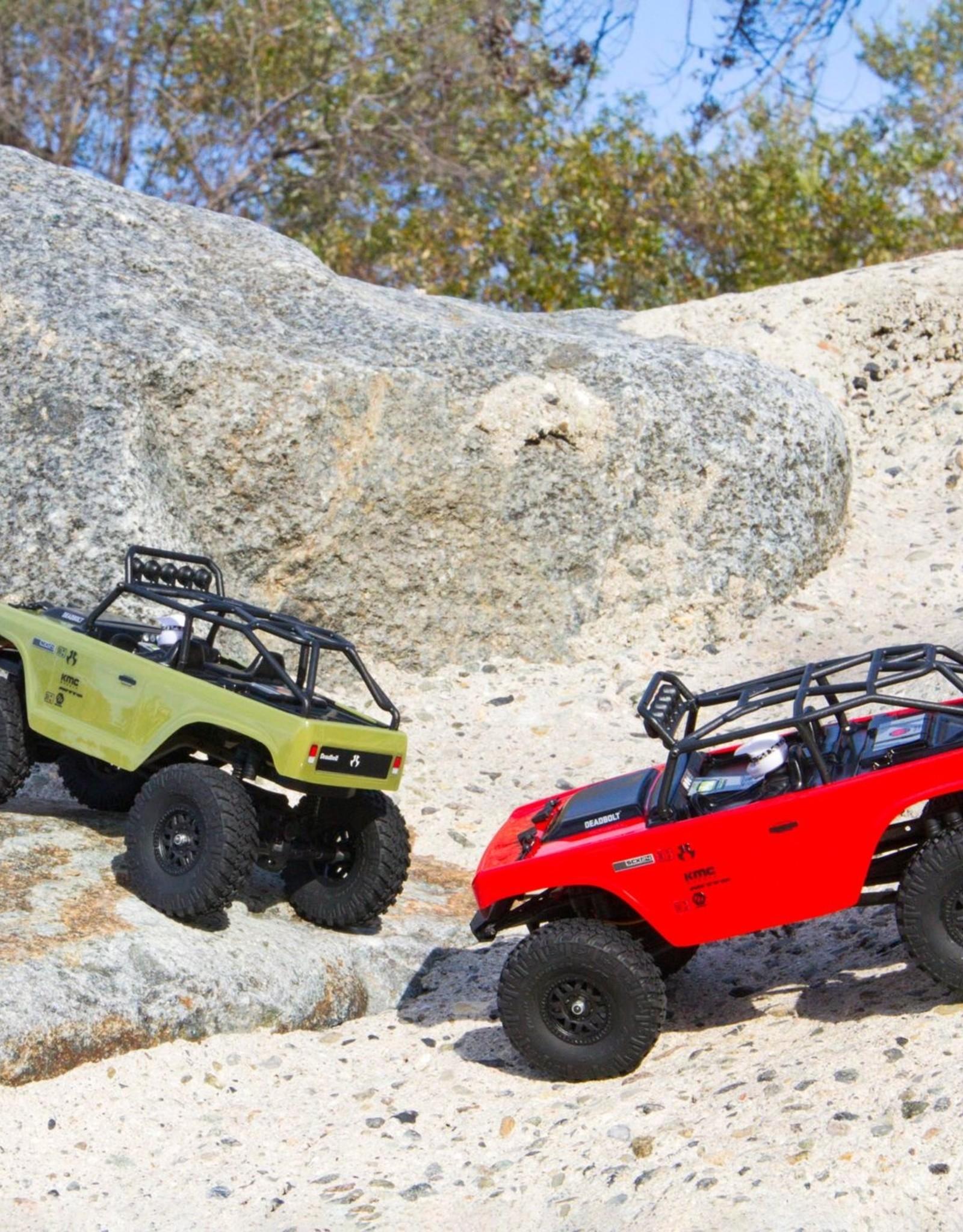 Axial Axial 1/24 SCX24 Deadbolt 4WD Rock Crawler Brushed RTR, Green