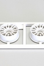 Kyosho Kyosho Multi Wheel II N/Offset 1.0mm (White/RE30/2pcs)