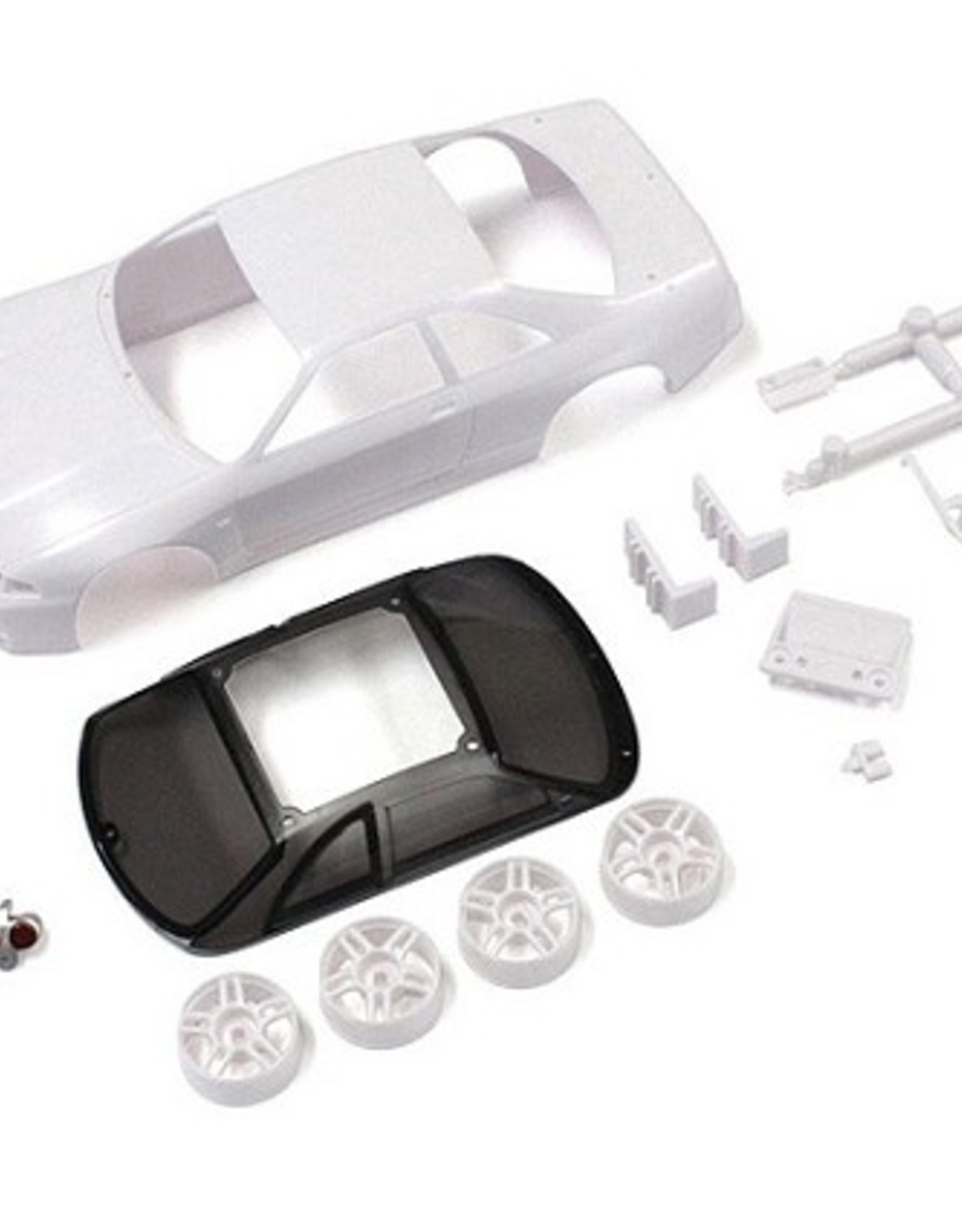 Kyosho Kyosho Mini-Z SKYLINEGT-R R33 V Spec White body set(w/Wheels)