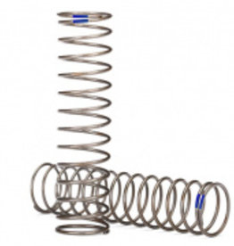 Traxxas Traxxas TRX Springs, shock (natural finish) (GTS) (0.61 rate, blue stripe) (2)