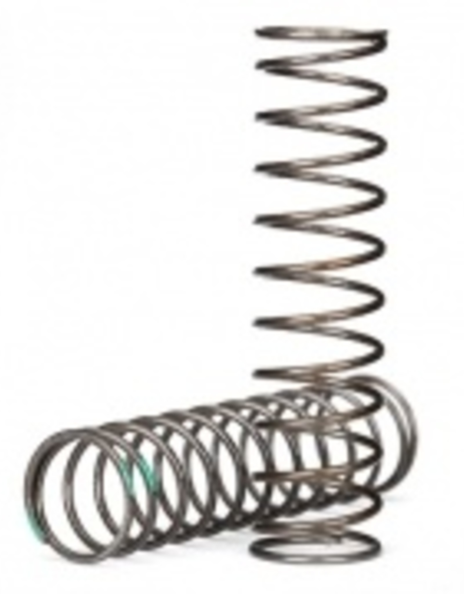 Traxxas Traxxas TRX Springs, shock (natural finish) (GTS) (0.54 rate, green stripe) (2)