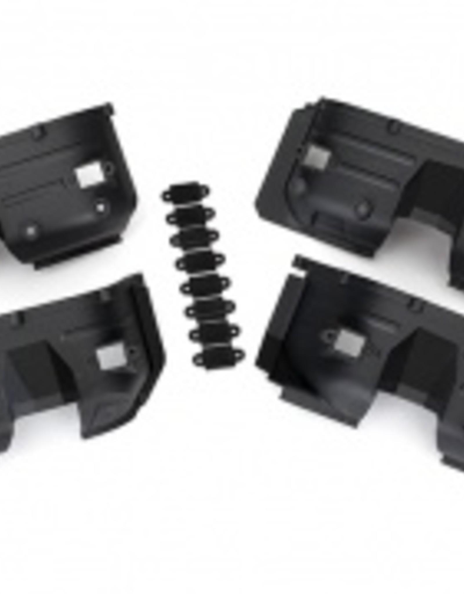 Traxxas Traxxas TRX Fenders, inner, front & rear (2 each)/ rock light covers (8)