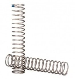 Traxxas Traxxas TRX Springs, shock, long (natural finish) (GTS) (0.62 rate, blue stripe) (for use with TRX-4® Long Arm Lift Kit)