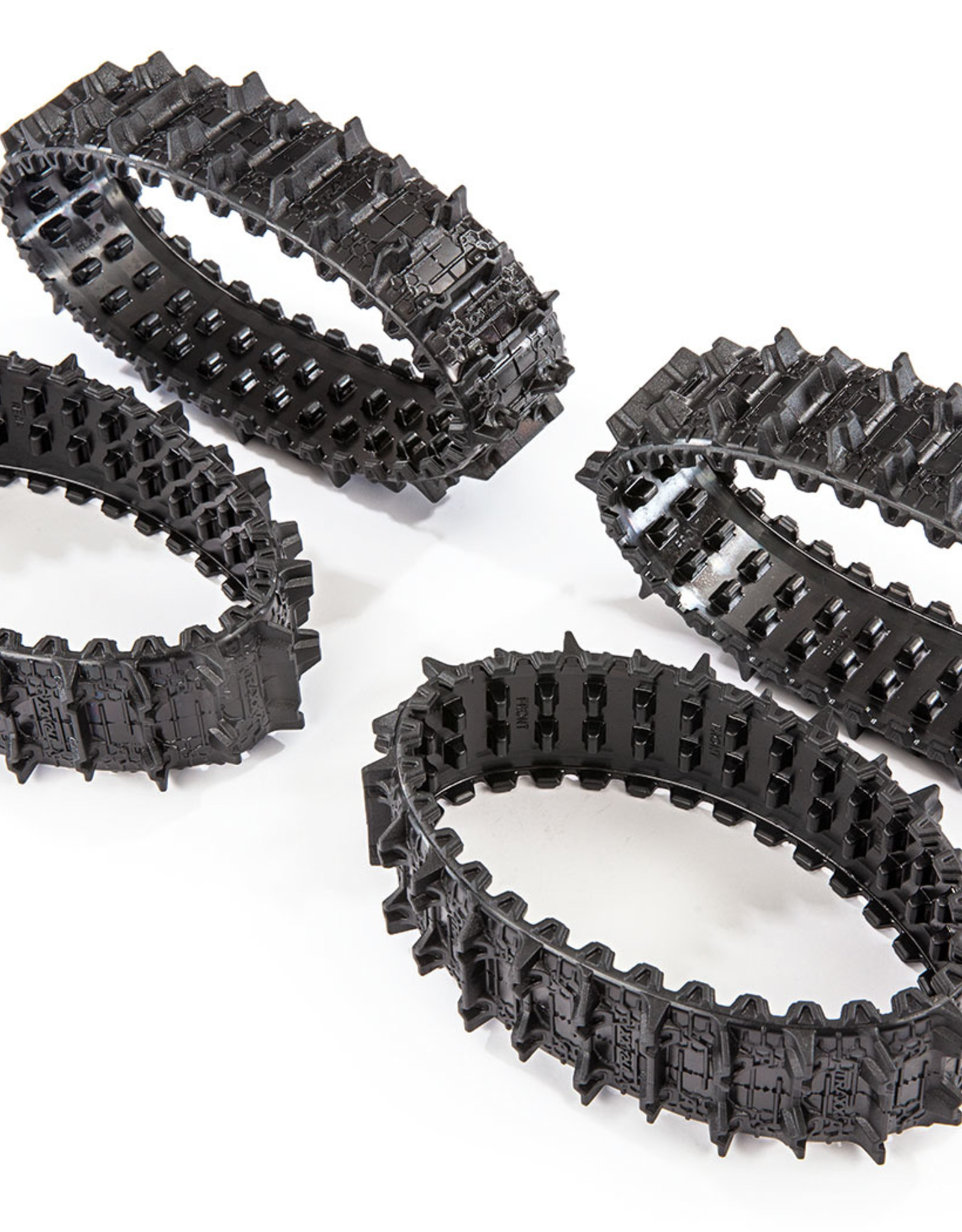 Traxxas Traxxas TRX Treads, Deep-Terrain, TRX-4® Traxx™ (complete set, front & rear) (rubber) (4)