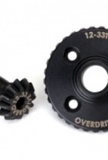 Traxxas Traxxas TRX Ring gear, differential/ pinion gear, differential (overdrive, machined)