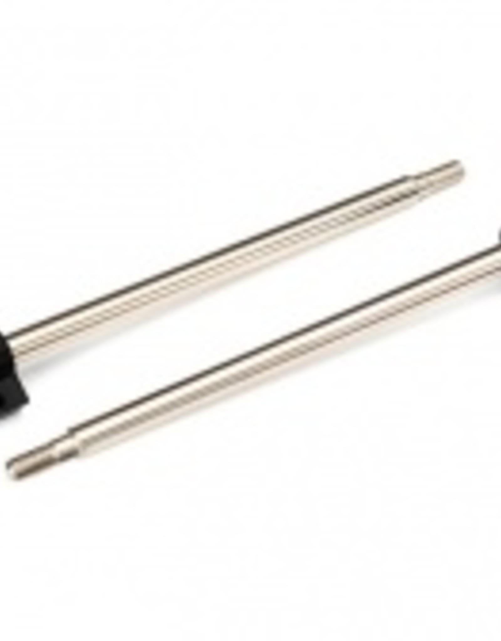 Traxxas Traxxas X-MAXX Shaft, GTX shock, 110mm (assembled with rod ends & hollow balls) (steel, chrome finish) (2)