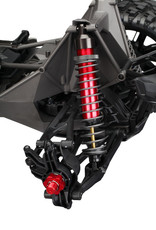 Traxxas Traxxas X-Maxx Shock caps, aluminum (hard-anodized, PTFE-coated), GTX shocks (4)/ spacers (8)