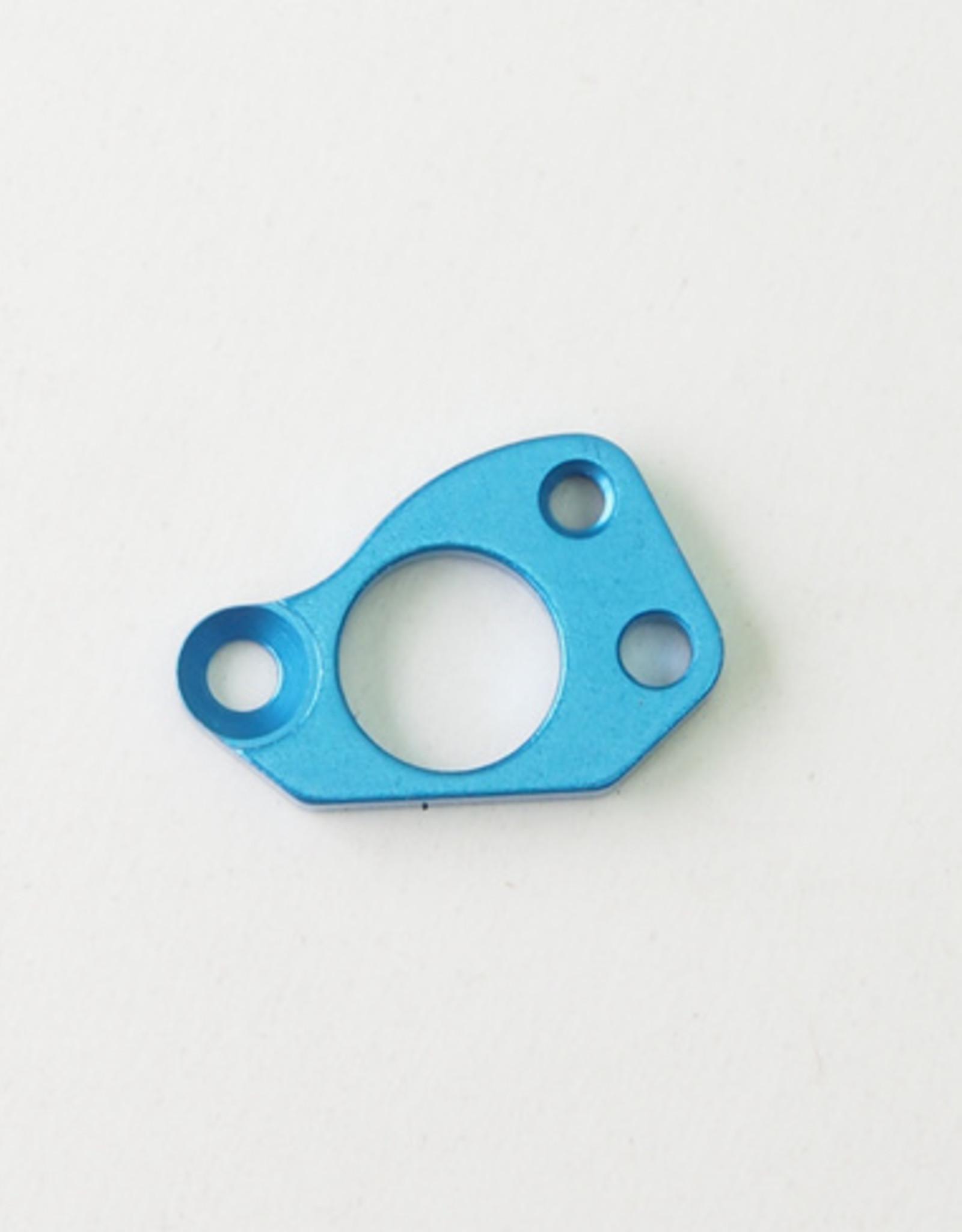 Pn Racing PN Racing Mini-Z V5 LCG Motor Mount Motor Plate Adaptor (Blue)