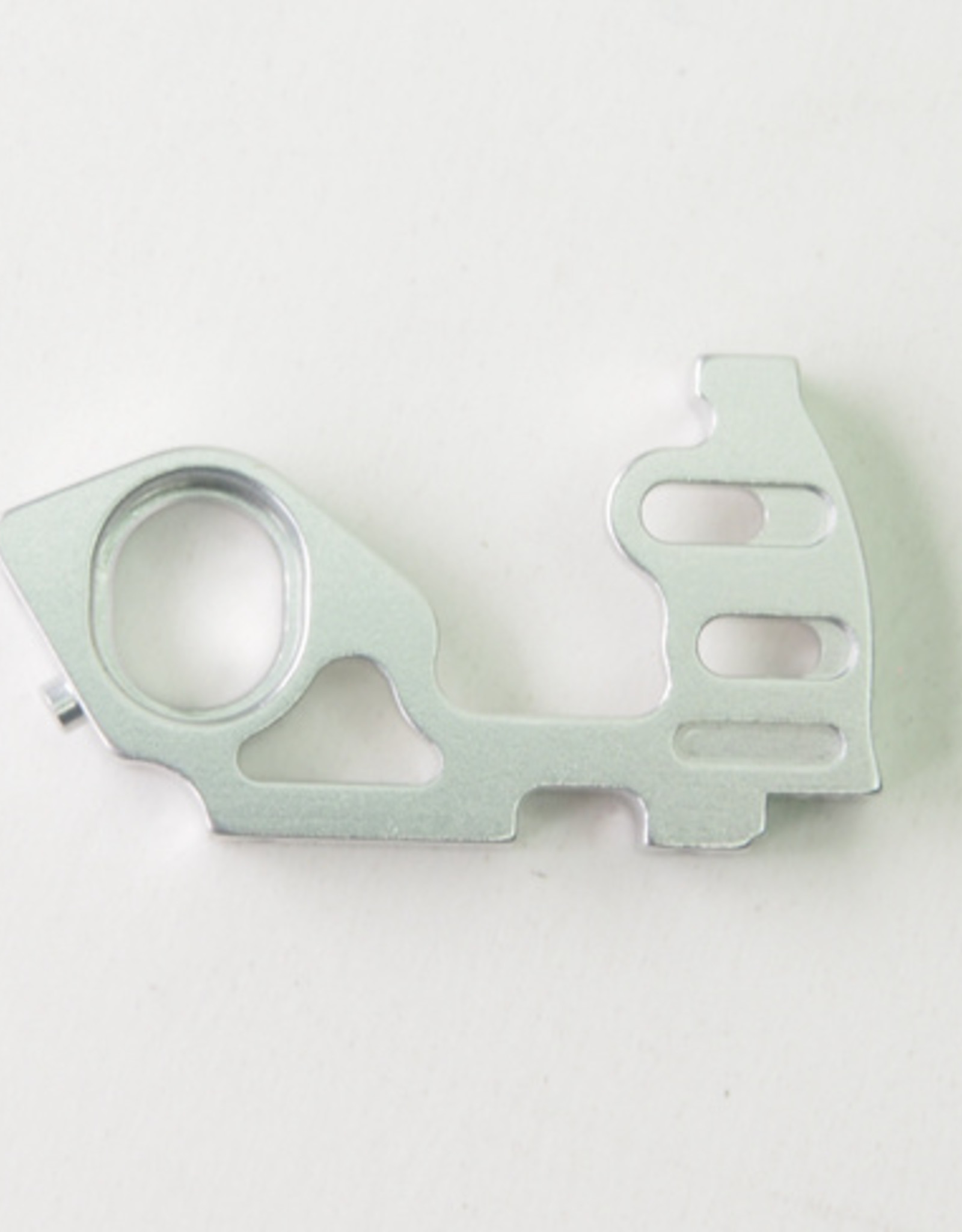 Pn Racing PN Racing Mini-Z V5 LCG Motor Mount Right Side Plate (Silver)