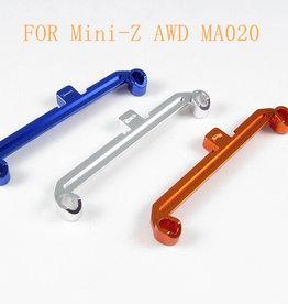 Pn Racing PN Racing Mini-Z AWD MA020 Alumium Tie Rod W+1 (Blue)