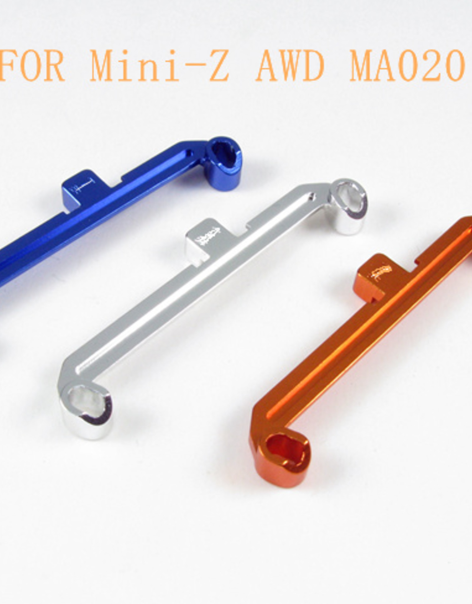 Pn Racing PN Racing Mini-Z AWD MA020 Alumium Tie Rod W-0 (Silver)