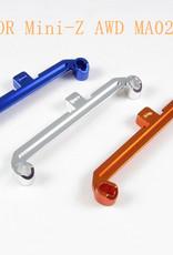 Pn Racing PN Racing Mini-Z AWD MA020 Alumium Tie Rod W+1 (Silver)