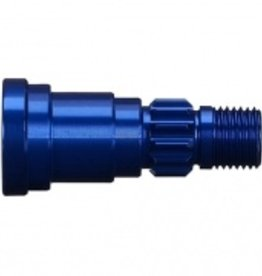 Traxxas Traxxas X-Maxx  Stub axle, aluminum (blue-anodized) (1) (use only with #7750 driveshaft) 6S Only