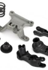 Traxxas Traxxas X-Maxx Steering bellcranks/ bellcrank support/servo saver/ servo saver spring/ draglink/ 3x20mm shoulder screws (2)