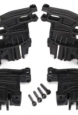 Traxxas Traxxas X-Maxx Battery hold-down mounts, left (2)/ right (2)/ 3x18mm CS (4)