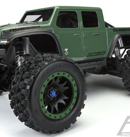 Proline RC Pro-line X-Maxx Pre-Cut Jeep Gladiator Rubicon Clear Body