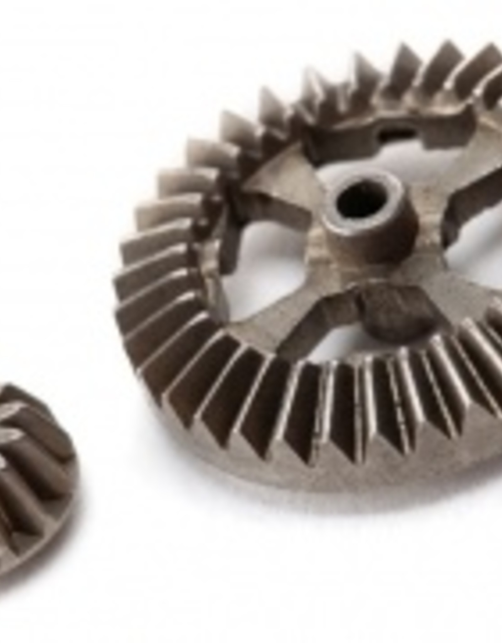 Traxxas Latrax Teton/ SST Ring gear, differential/ pinion gear, differential (metal)