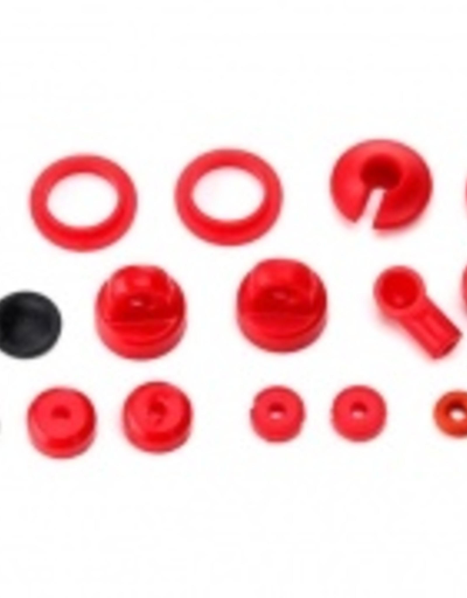 Traxxas LaTrax Teton/ SST Rebuild kit, oil-filled shocks (o-ring, bladder, piston, shaft guide, E-clips, shock cap, shock rod end) renews 2 shocks