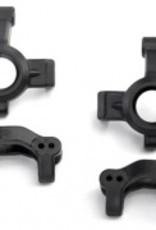 Traxxas LaTrax Teton/Rally Caster blocks (c-hubs) (2)/ steering block (2)